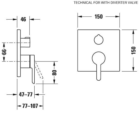 Technical drawing QS-V82640 / C14210009010