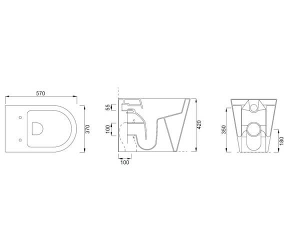 Technical drawing QS-V102464 / 83115