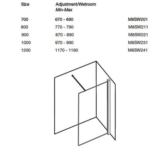Technical drawing QS-V25961 / M8SW201