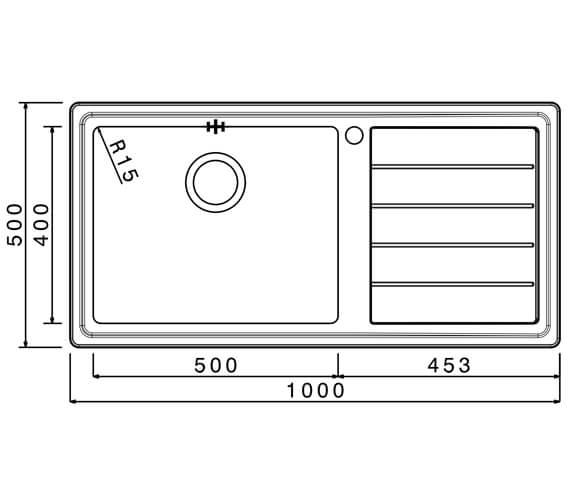 Technical drawing QS-V88828 / LIPB100L