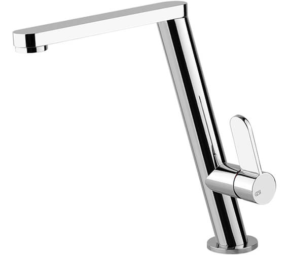 Gessi Emporio 247mm High Angular Kitchen Mixer Tap