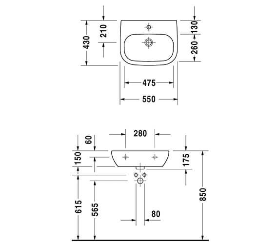 Technical drawing QS-V14490 / 23115500702