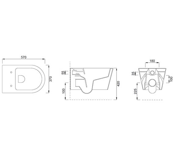 Technical drawing QS-V102470 / 83117