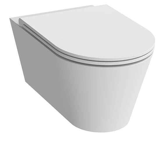 Additional image of Saneux Icon Round Wall Hung WC Pan