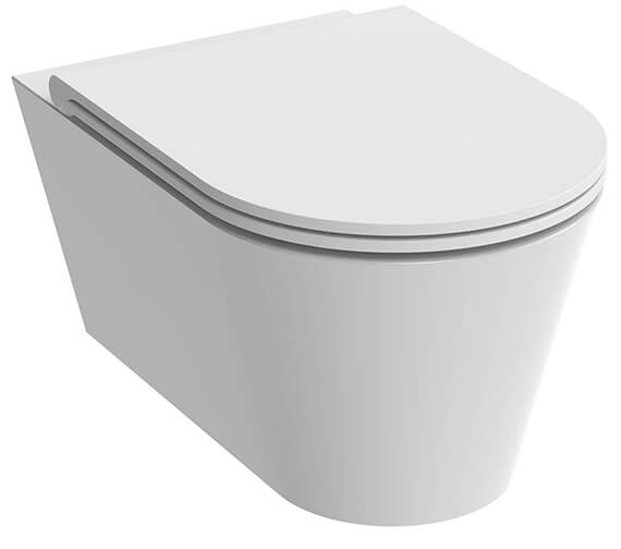 Saneux Icon Round Wall Hung WC Pan