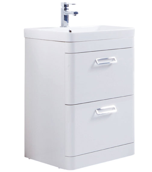 Alternate image of Kartell K-Vit Metro 2 Drawer Floor Standing Vanity Unit