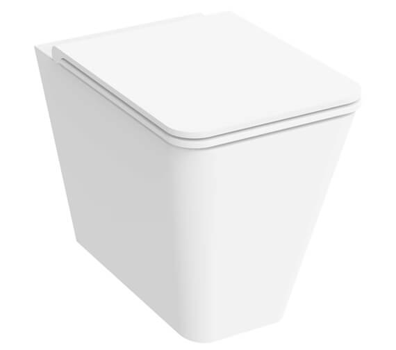 Saneux Icon Rimless Square Back To Wall WC