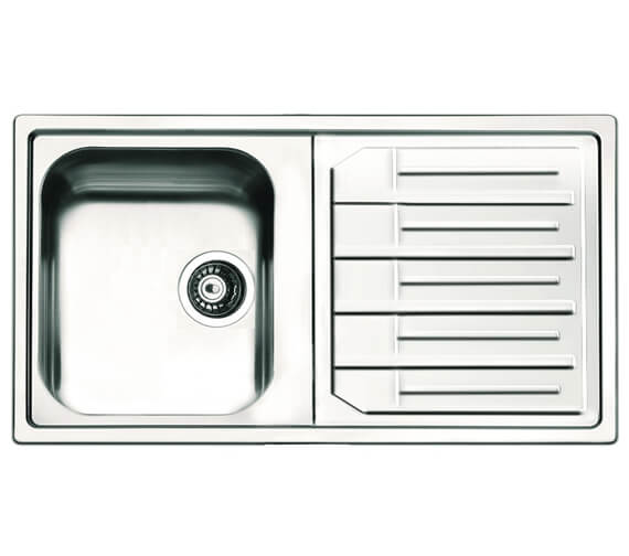 Clearwater Maggio 1 Bowl Kitchen Sink And Drainer