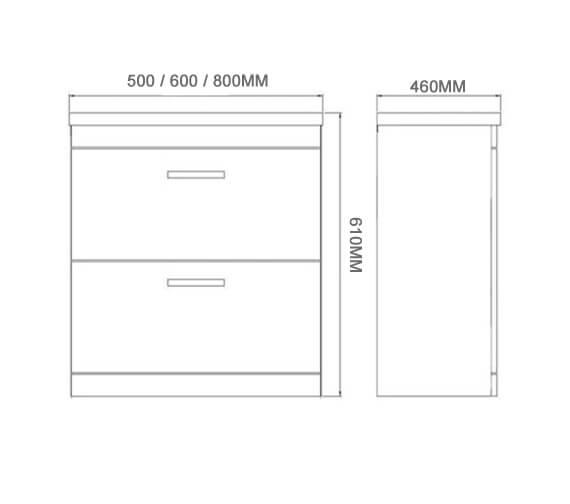 Technical drawing QS-V102035 / FUR141ME