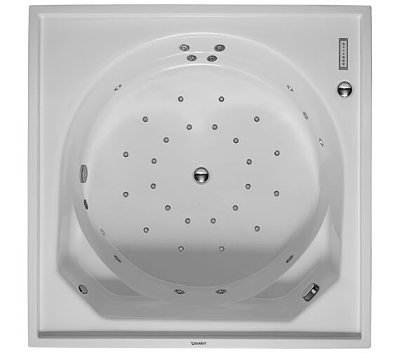Duravit Blue Moon 1400mm Square Bath With Support Frame