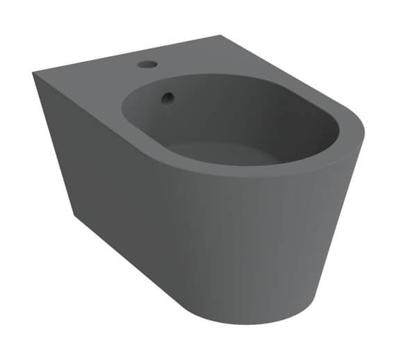 Alternate image of Saneux Icon 1 Tap Hole Round Wall Hung Bidet