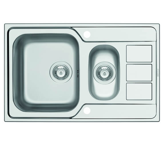 Clearwater Mistral 1.5 Bowl Kitchen Sink And Drainer