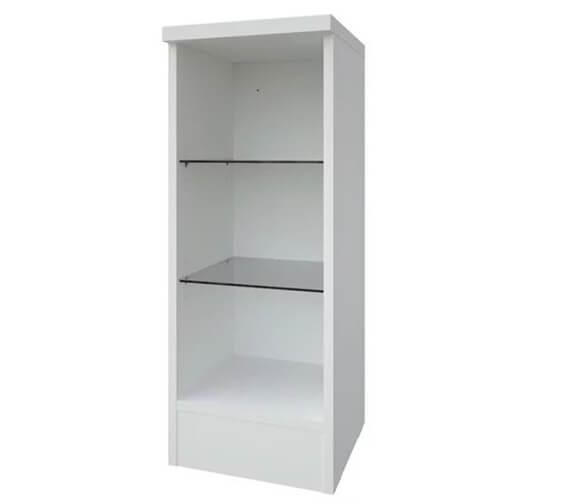 Alternate image of Kartell K-Vit Purity 300 x 780mm Open Glass Shelf Unit