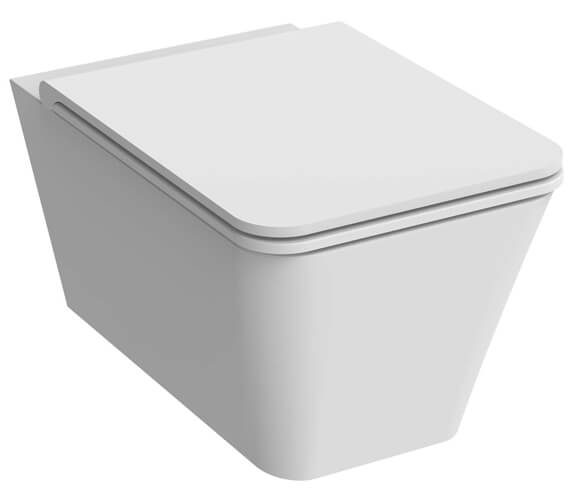 Additional image of Saneux Icon Rimless Square Wall Hung WC
