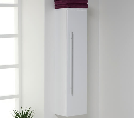 Additional image of Kartell K-Vit Purity Wall Mounted Tall Unit 335 x 1400mm