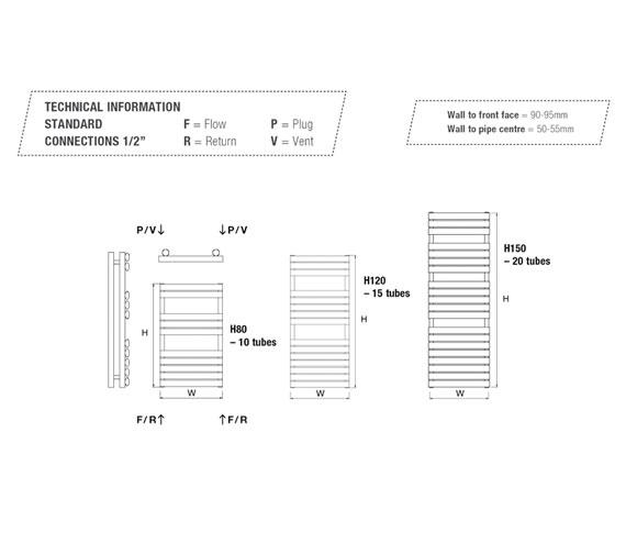 Technical drawing QS-V18144 / COVETR50/80-W