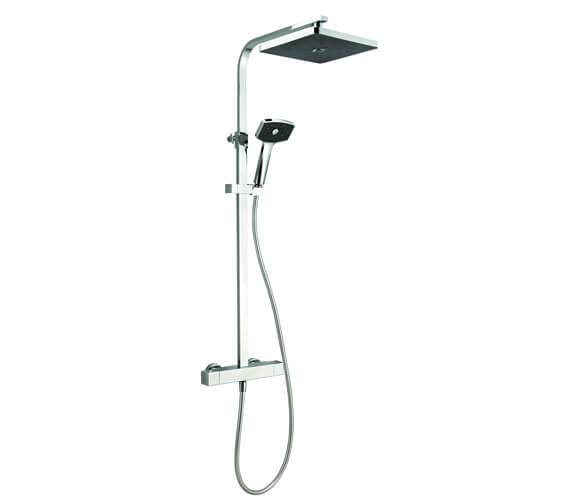 Methven Satinjet Waipori Thermostatic Cool To Touch Bar Shower With Diverter