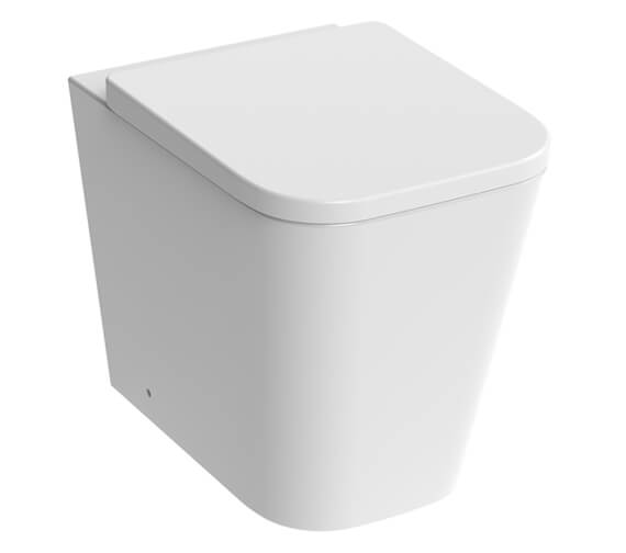 Saneux Matteo Back To Wall WC Pan Rimless With Toilet Seat