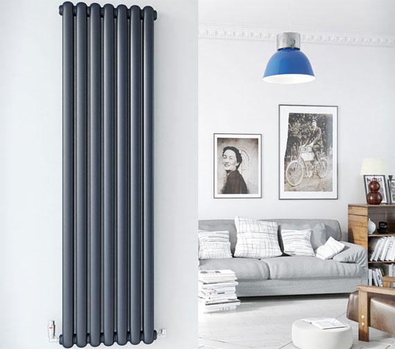 DQ Heating Cassius Vertical Designer Radiator 1800mm High
