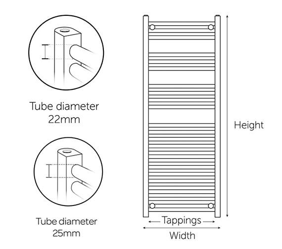 Technical drawing QS-V99221 / CTR308W