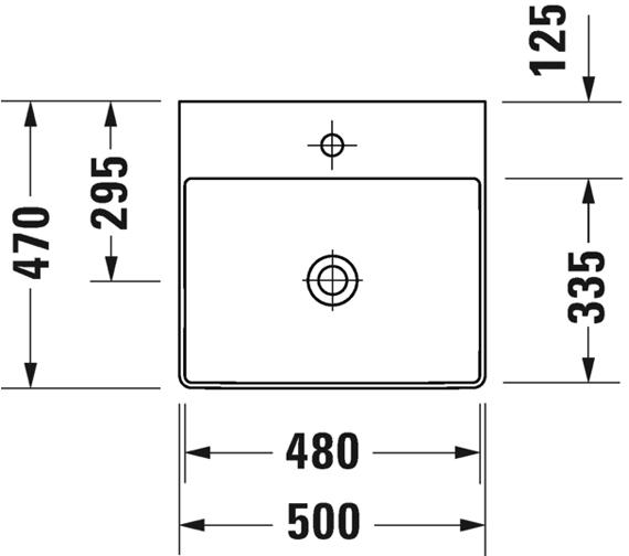 Technical drawing QS-V100738 / 2353500070