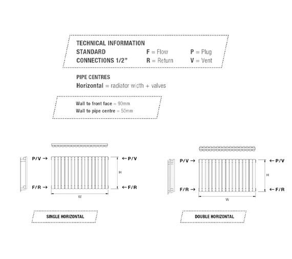 Technical drawing QS-V18148 / COVE550/7-W