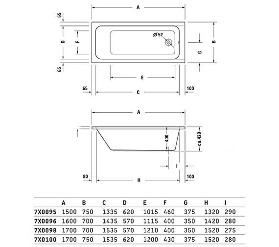Technical drawing QS-V6451 / 700095000000000