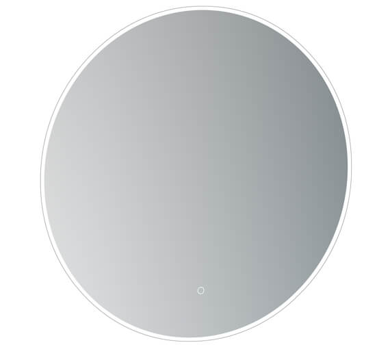 Saneux Oska Round Illuminated LED Mirror With Demister Pad
