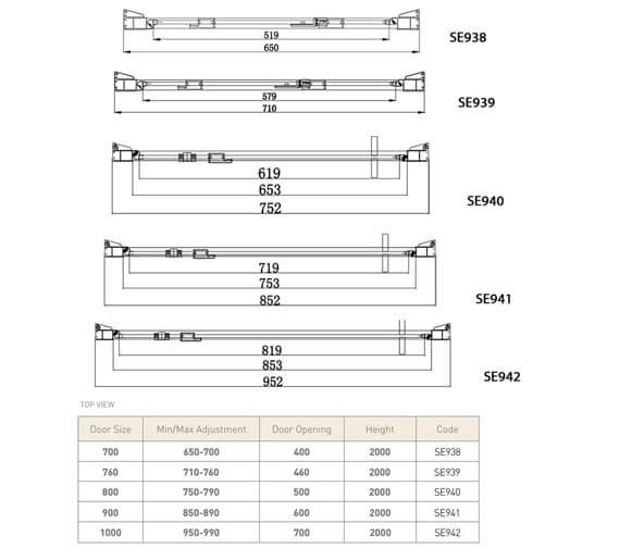 Technical drawing QS-V81486 / SE938