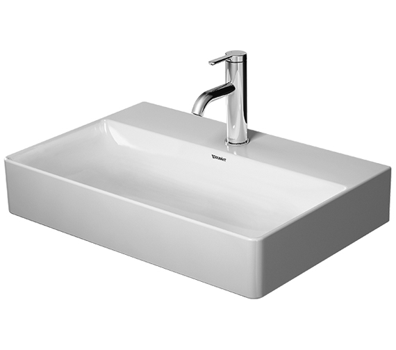 Duravit DuraSquare Furniture 600mm Washbasin Compact Ground