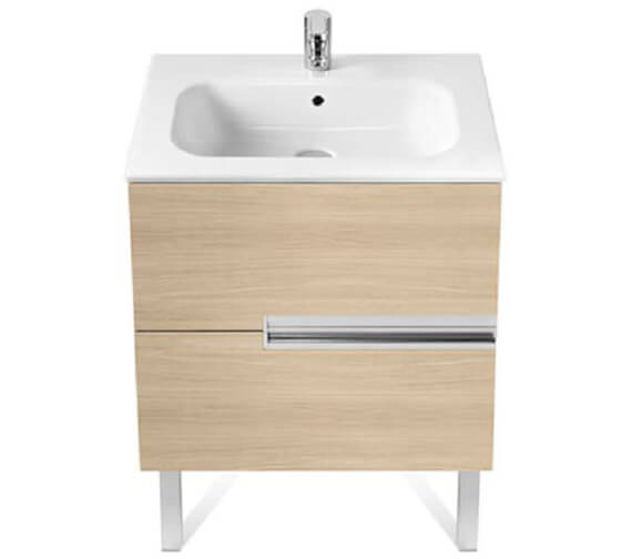 Roca Victoria-N Unik 565mm High Wall Hung Unit With Basin