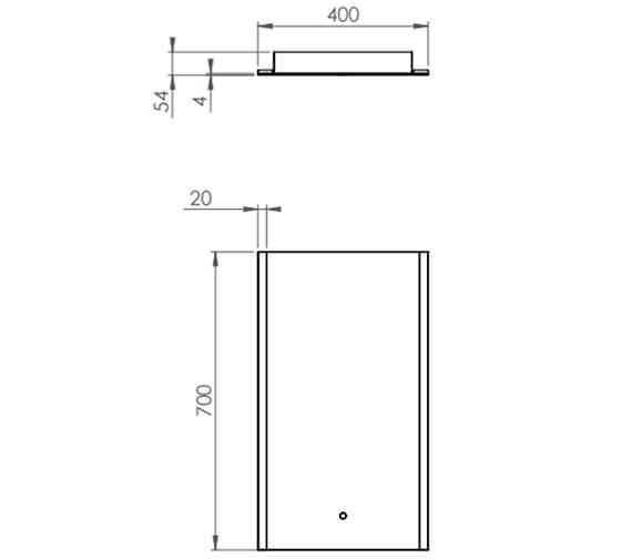 Technical drawing QS-V88795 / AIR040M
