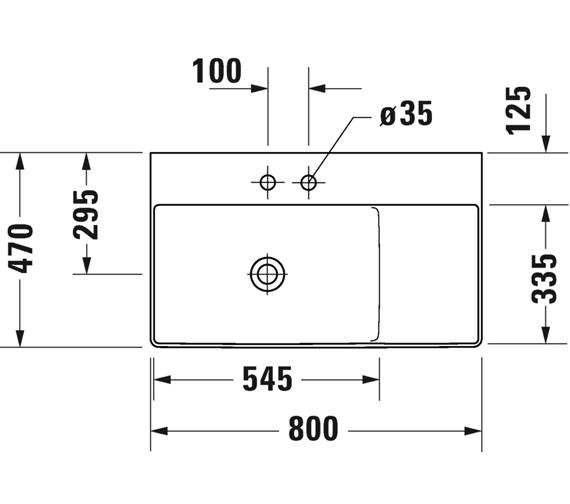 Technical drawing QS-V100741 / 2348800070