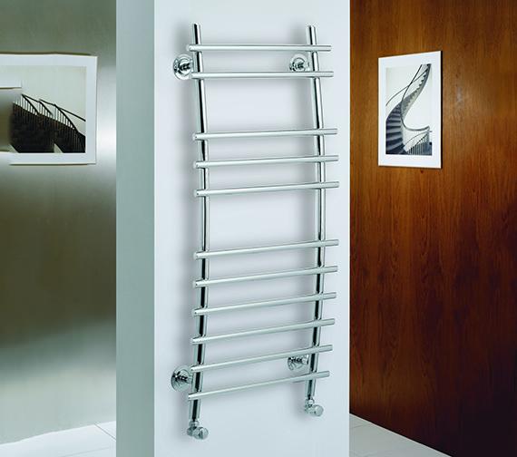 Kartell K-Rad Phoenix Designer Heated Towel Rail 500 x 1150mm
