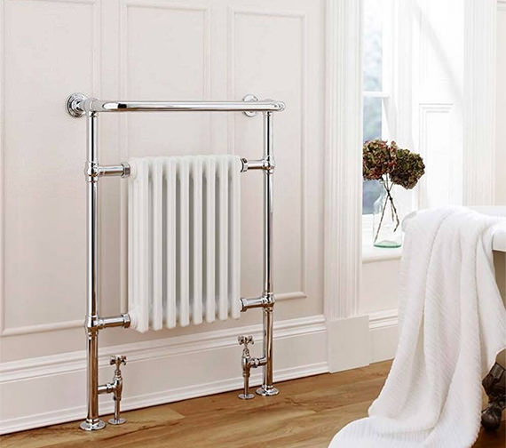 Kartell Crown Traditional Heated Towel Radiator