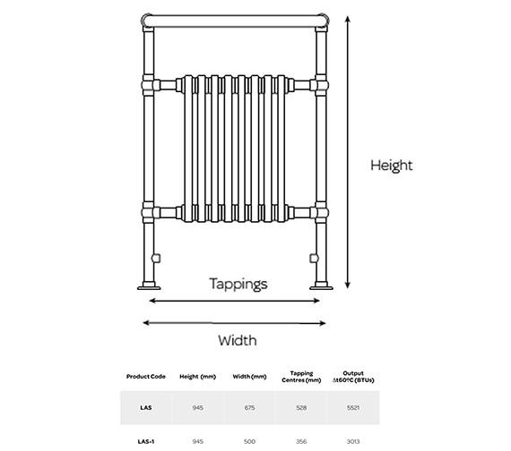Technical drawing QS-V99236 / LAS-1
