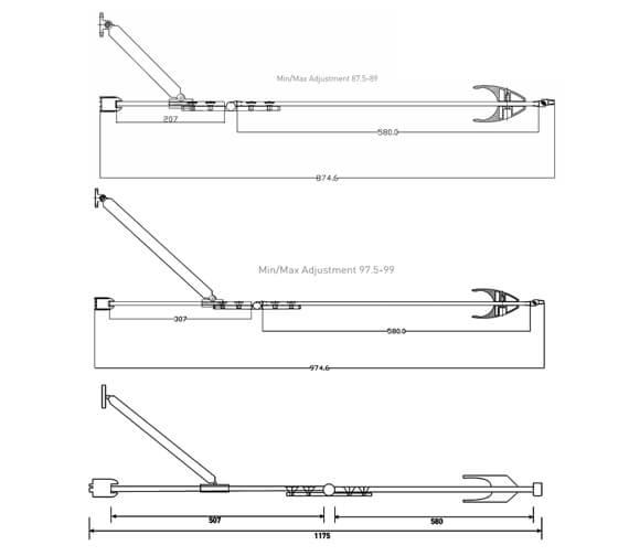 Technical drawing QS-V18475 / SE800L