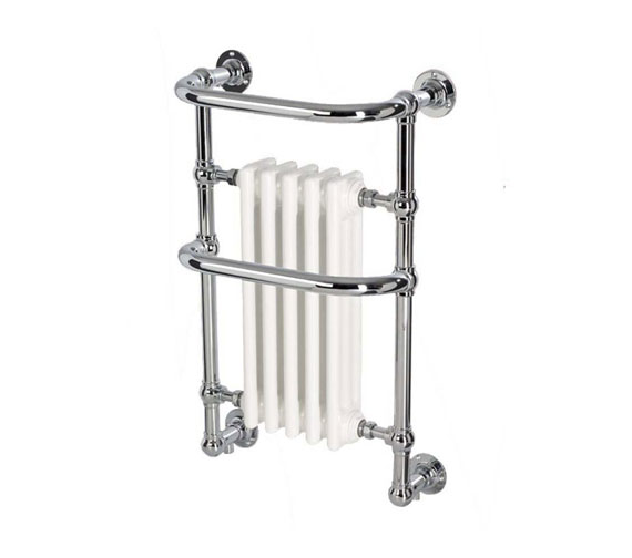 DQ Heating Old Buckenham Wall Mounted Traditional Towel Rail 789 High