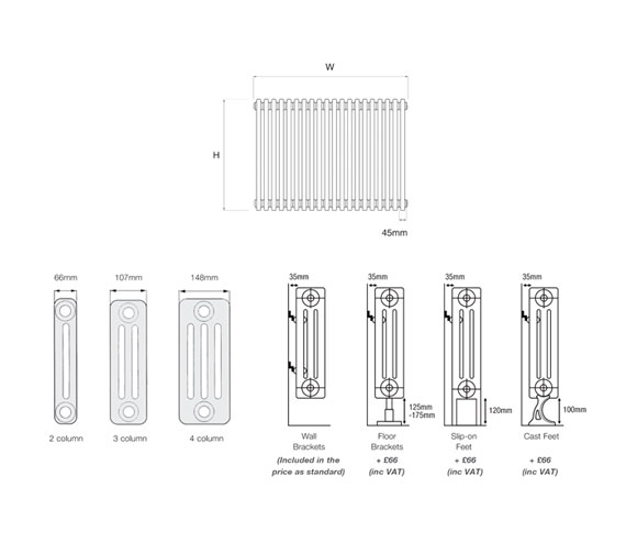 Technical drawing QS-V18725 / PETA-E2.600/10-W