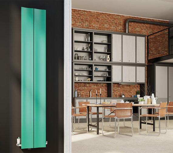 DQ Heating Ruvo Vertical Designer Aluminum Radiator 1800mm High