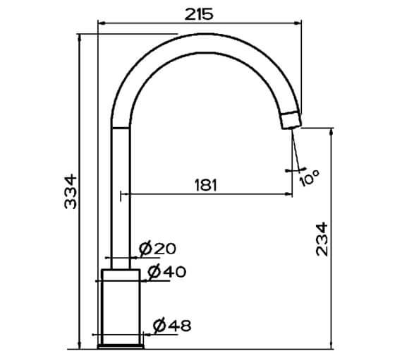 Technical drawing QS-V102376 / CW02590CP