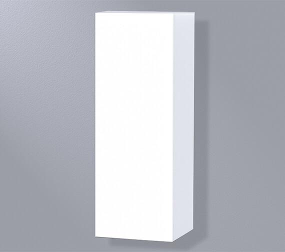 Miller New York White 400 x 1111mm Single Door Storage Cabinet