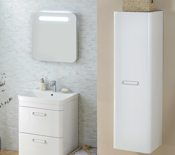 Kartell K-Vit Metro Illuminated Mirror