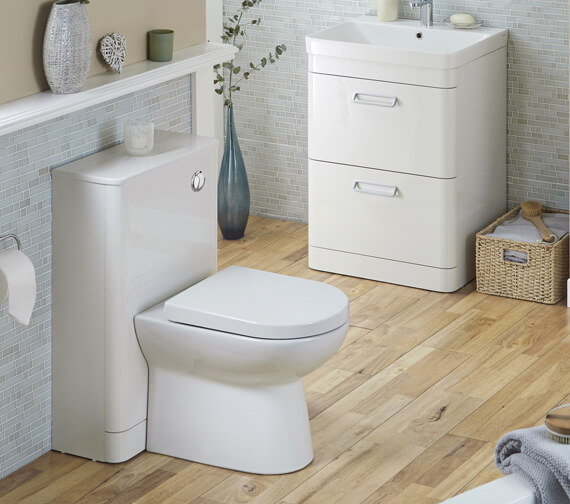 Kartell K-Vit Metro 500 x 770mm WC Unit With Concealed Cistern