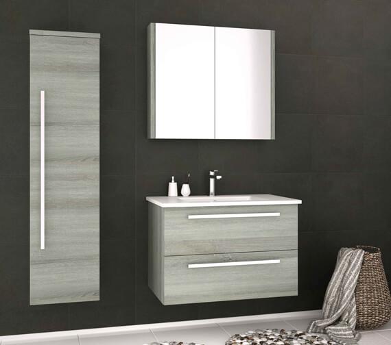 Alternate image of Kartell K-Vit Purity Double Door Bathroom Mirror Cabinet