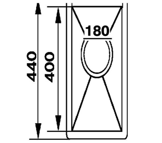 Technical drawing QS-V88866 / SK18
