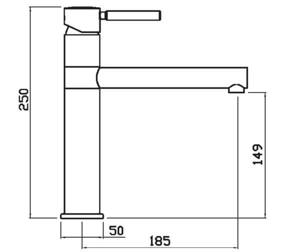 Technical drawing QS-V102384 / VEGCP