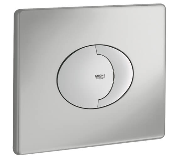 Additional image of Grohe Skate Air Dual Horizontal WC Flush Wall Plate Alphine White