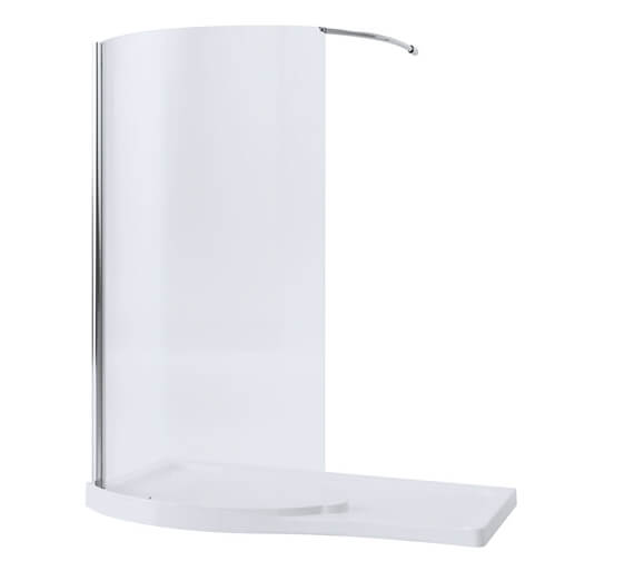 Mira Leap 1400mm Curved Walk-In Panel