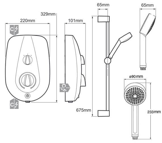 Technical drawing QS-V80057 / 1.1788.004